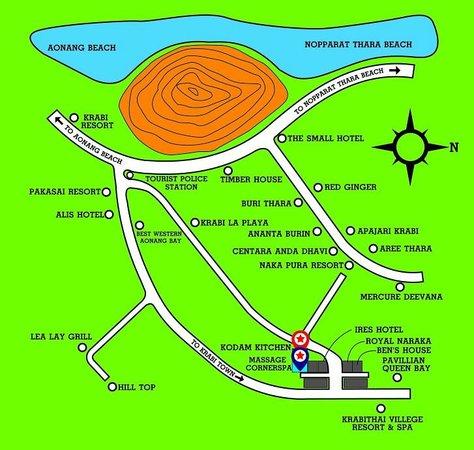 Ao Nang, Thailand: MAP