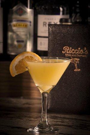 Riccio's Steak & Seafood: Lemoncello Martini