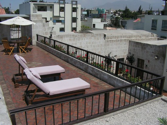 Casa Andina Premium Arequipa: Sun deck