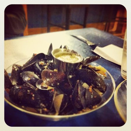 MidTrail Motel & Inn : Fresh and delicious mussels with a secret sauce