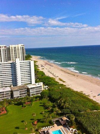 Marriott's Oceana Palms: View from balcony - 20th fl.