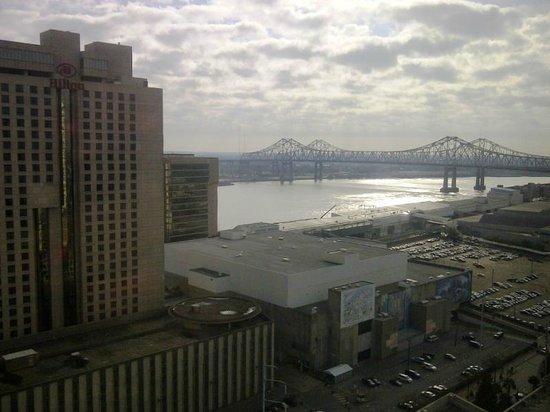 Harrah's New Orleans 22nd Floor Room View