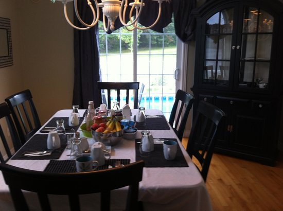 Capeway Country Bed & Breakfast : Dining room
