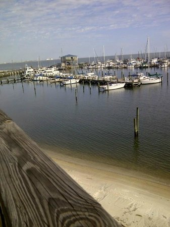Steve's Marina Restaurant: Steves Marina Long Beach Mississippi Deck View