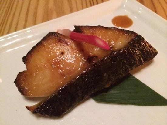 Nobu: black cod with miso sauce