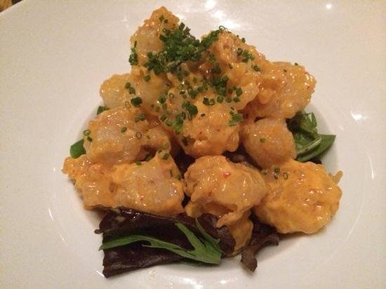 Nobu: tempura rock shrimp
