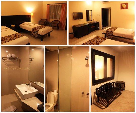 Legian Paradiso Hotel : Room condition
