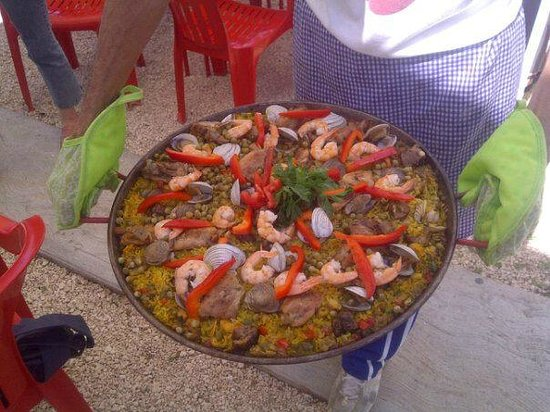 Que Chevere Sabor Venezolano: Paella de Mariscos.