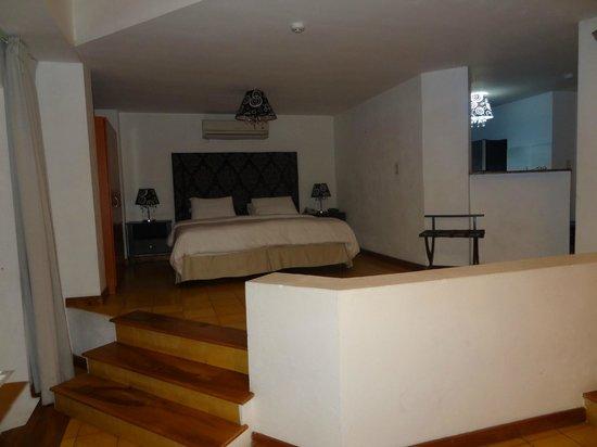 Casa Antigua: Bedroom area