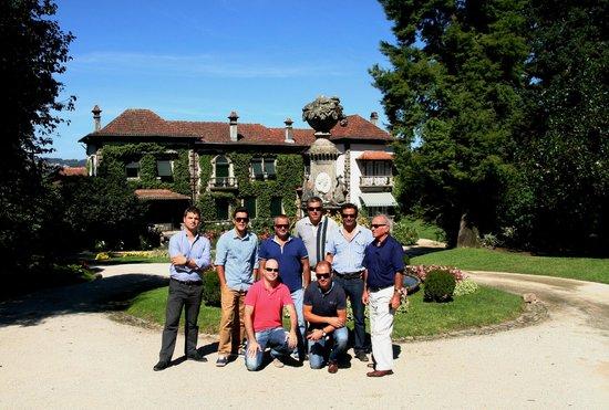 Quinta da Aveleda: Grupo que visitou a Quinta.