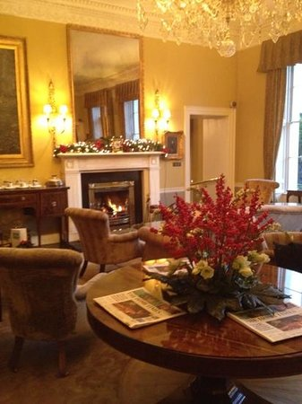 The Merrion Hotel: one of the public rooms