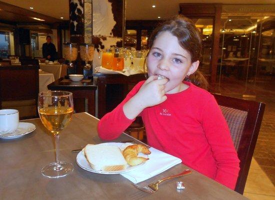 Alto Calafate Hotel Patagonico: desayuno