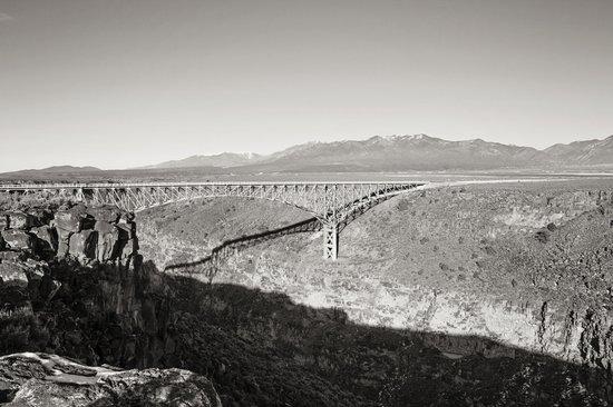 Rio Grande Gorge Bridge : View from the trail