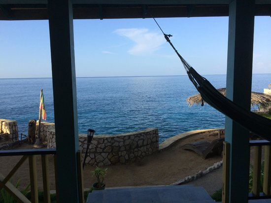 Banana Shout Resort : View out of room