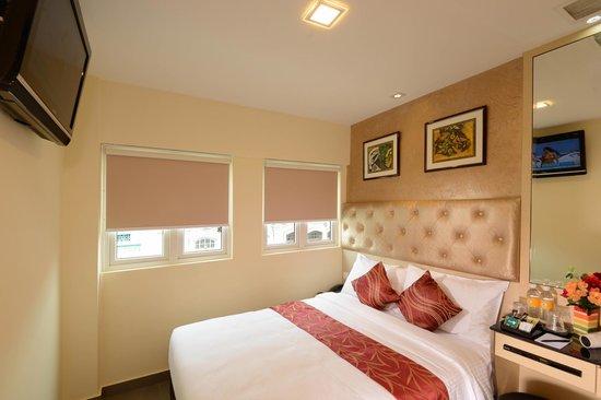 Sandpiper Hotel Singapore : The Deluxe Nest Queen Bed