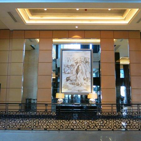 Fairmont Cairo, Nile City : upper lobby area