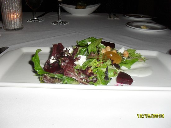 Inn on Biltmore Estate: Spring greens salad