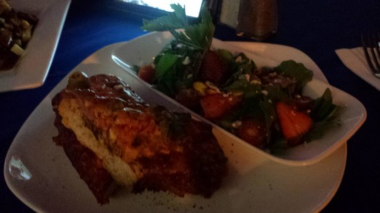 Los Tabernacos Sports Bar and Lounge: Croque Monsieur with a salad