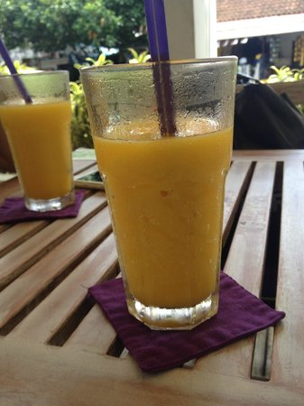 Coffee Corner: Mango Frappe