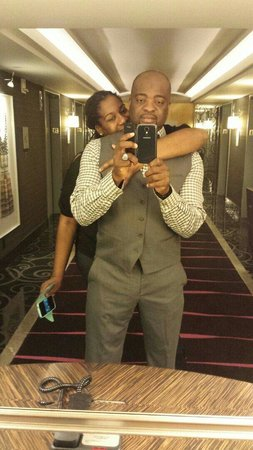 Borgata Hotel Casino & Spa: SELFIE PIC...ME and MY GENT