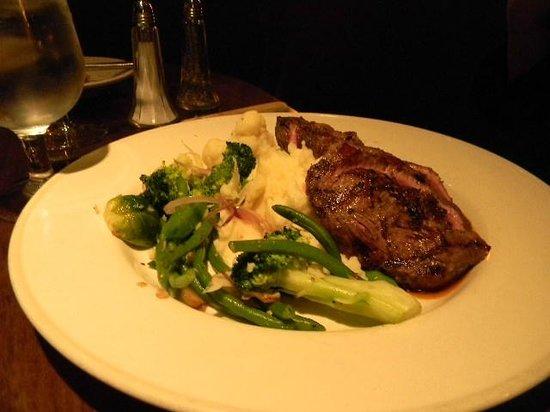 Tarragon : flat iron steak
