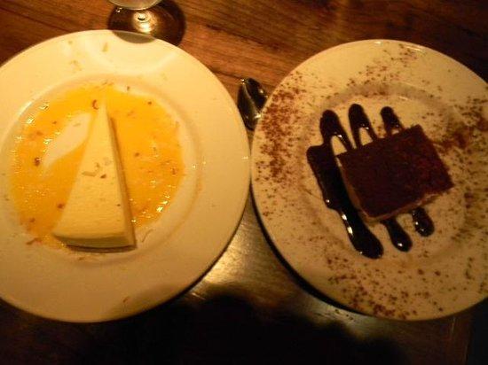 Tarragon : new york cheesecake and tiramatsu