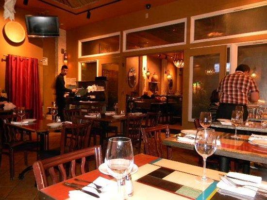 Dishdash: The third room looking toward the bar