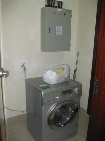 Washer / Dryer combo unit - Picture of The Mayflower, Jakarta ...