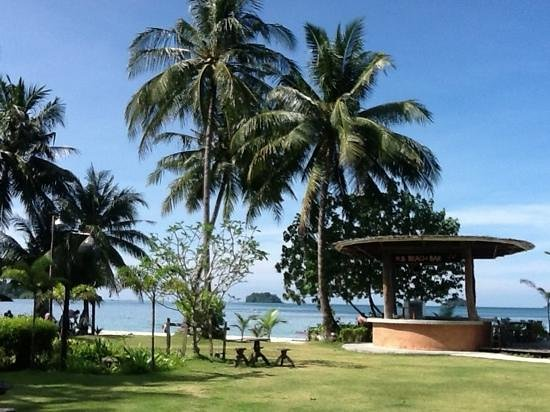 K.B. Resort: de tuin