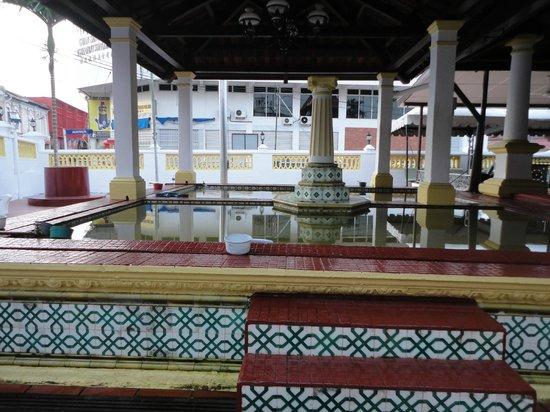 Kampung Hulu Mosque: Kolam Tempat Berwudhu