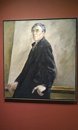 Clyfford Still Museum: Self Portrait clyfford Still