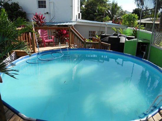 KenMar's Bed and Breakfast: Afternoons by the pool. Relaxing and refreshing!