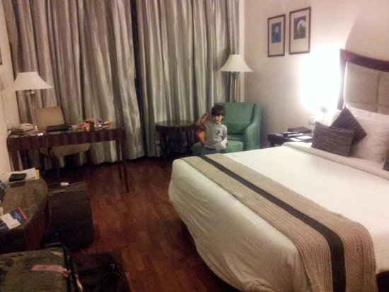 The Muse Sarovar Portico: my room