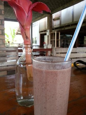 Organic Mulberry Farm Restaurant: mulberry shake
