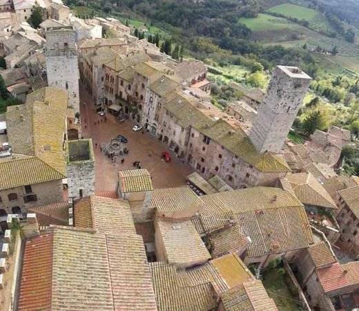 Hotel Leon Bianco : Climb the tallest tower in San Gimi for this view