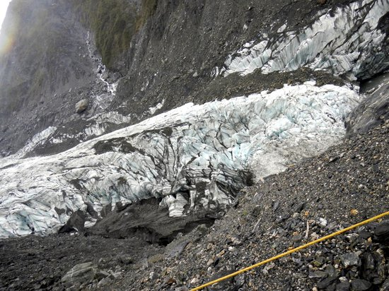 Fox Glacier Hiking Trails: As close as you can get without a guide.. that's pretty close