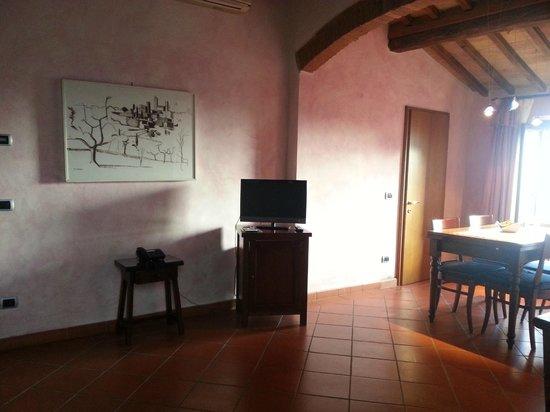 Hotel Leon Bianco : Apartment lounge