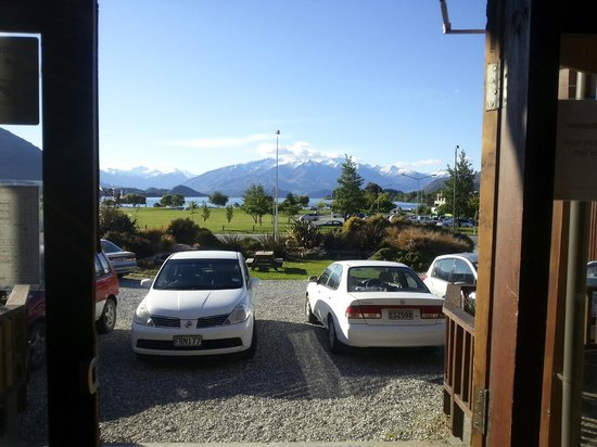 YHA Wanaka: View from the front door