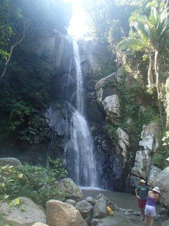 Hotel Lagunita: la cascada