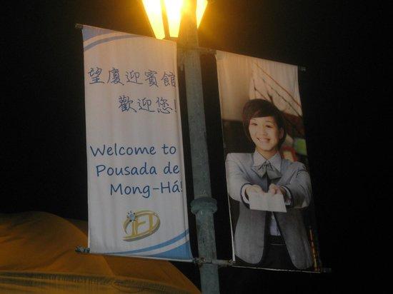 Pousada de Mong-Ha: Greeting banner