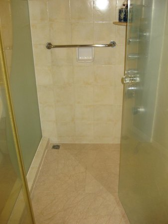 Pousada de Mong-Ha: Shower with wonderful shower system