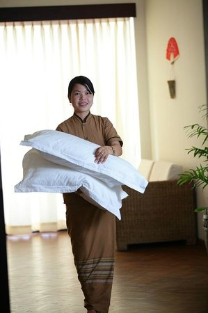 Amata Garden Resort Inle : Service with smile