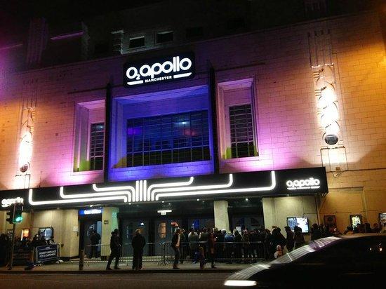 O2 Apollo Manchester: Фасад здания