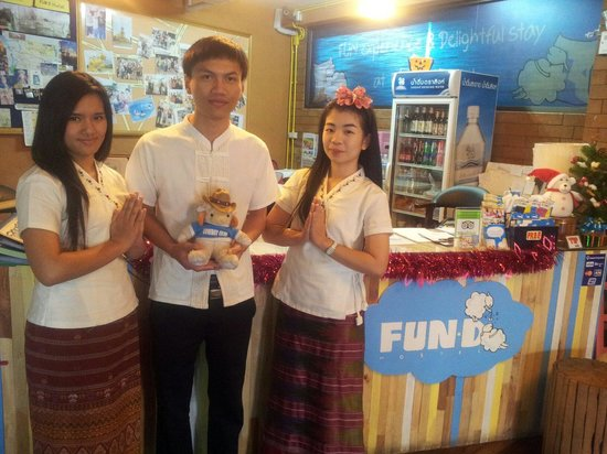 welcome to FUN-D Hostel