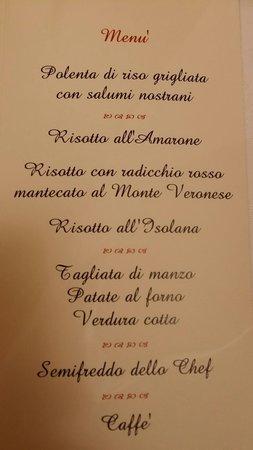 Menu Di Natale Verona.Il Nostro Succulento Menu Di Natale Picture Of Ristorante
