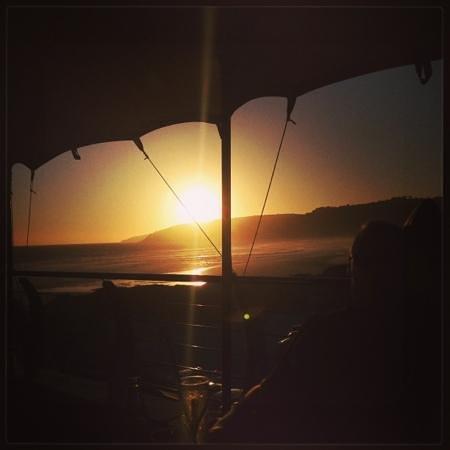 Stunny sunset @ Salinas beach restaurant
