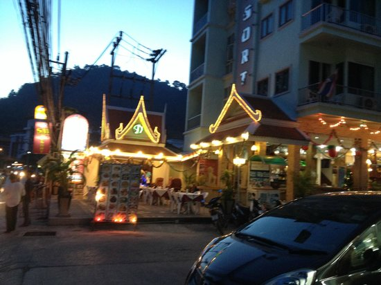 SM Resort: Hotel Entrance