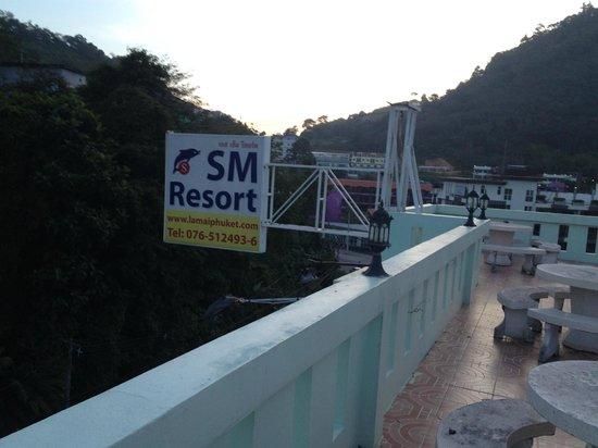 SM Resort: View from Roof-Top Garden