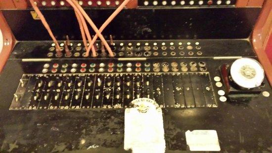 Simbad Hotel : Antigua centralita telefónica conservada en el hotel
