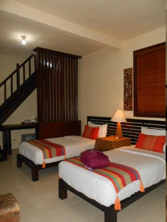 Beji Ubud Resort: lumbung room downstair